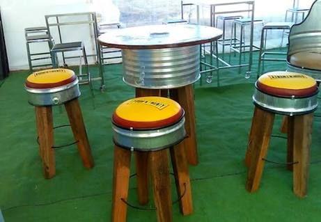 best 25 55 gallon drum ideas on pinterest 55 gallon 55 gallon steel drum and metal drum. Black Bedroom Furniture Sets. Home Design Ideas