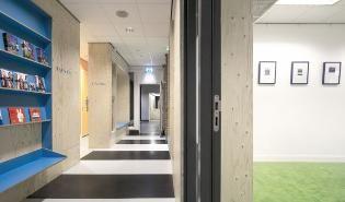 Interieur voor Raad van de Kinderbescherming door Bloot Architecture - alle projecten - projecten - de Architect