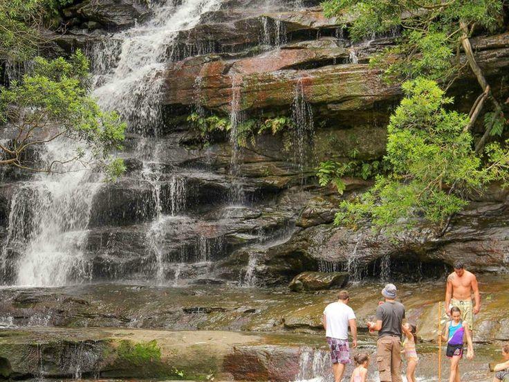 Somersby Falls picnic area, Brisbane Water National Park. Photo: John Yurasek