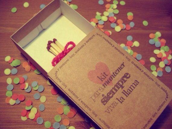 Fósforos , amor , ideas