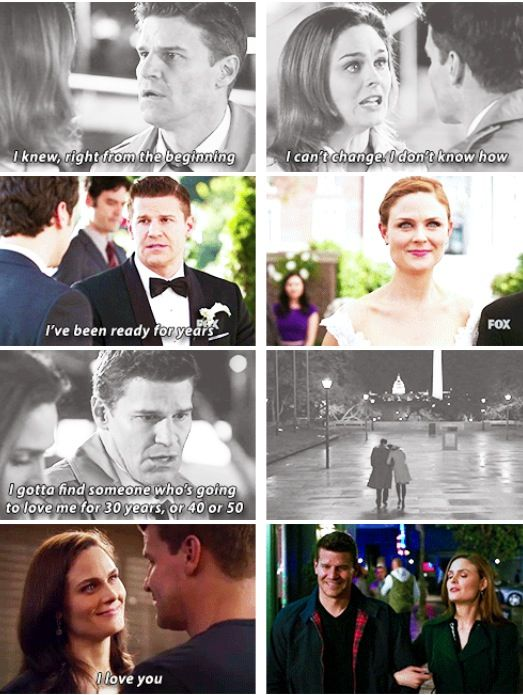 He knew from the beginning  #booth #bones