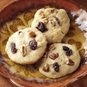Raisin Sweet Potato Cookies - I use GF flour instead of regular flour.
