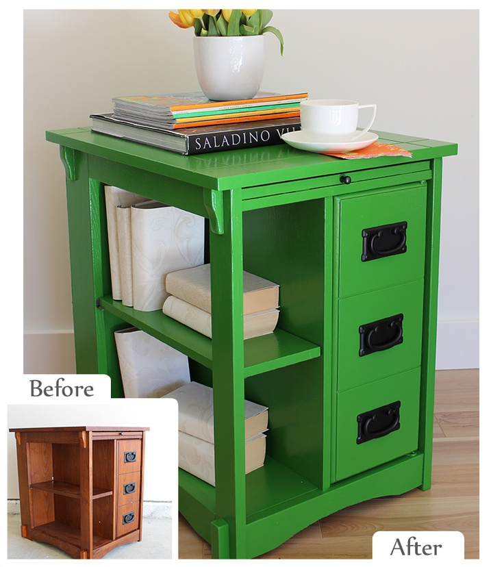 Maria Killam #VHDS12 Ultimate Upcycle Challenge Refinished End Table