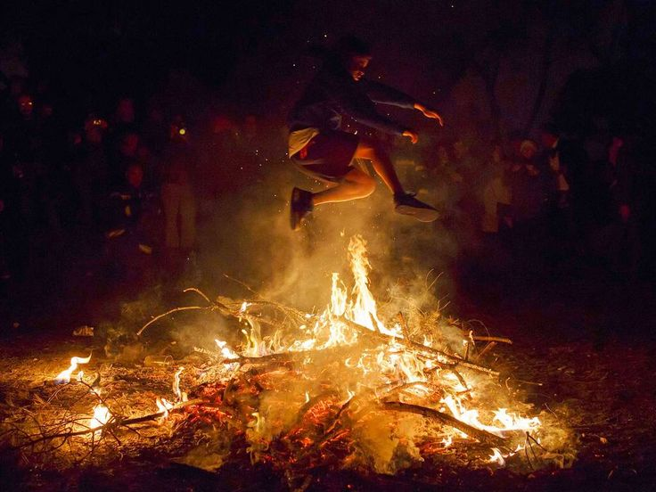 Prelude to Nowruz: The Persian Bonfire Night, or Chaharshanbe Suri