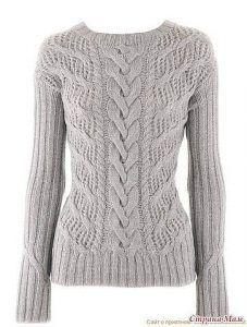 Пуловер от IRIS VON ARNIM (Вязание спицами)