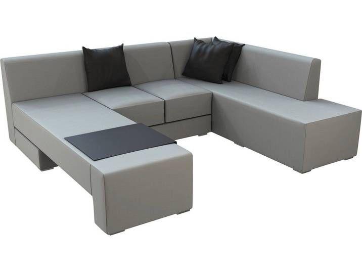 Lounge Set Mentone 3 Teilig Aus Axvision Ausfuhrung Rechts Grau In 2020 Furniture Couch Home Decor
