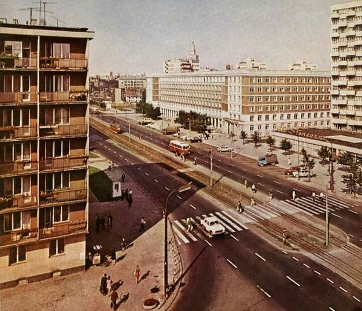 Grójecka, 1972