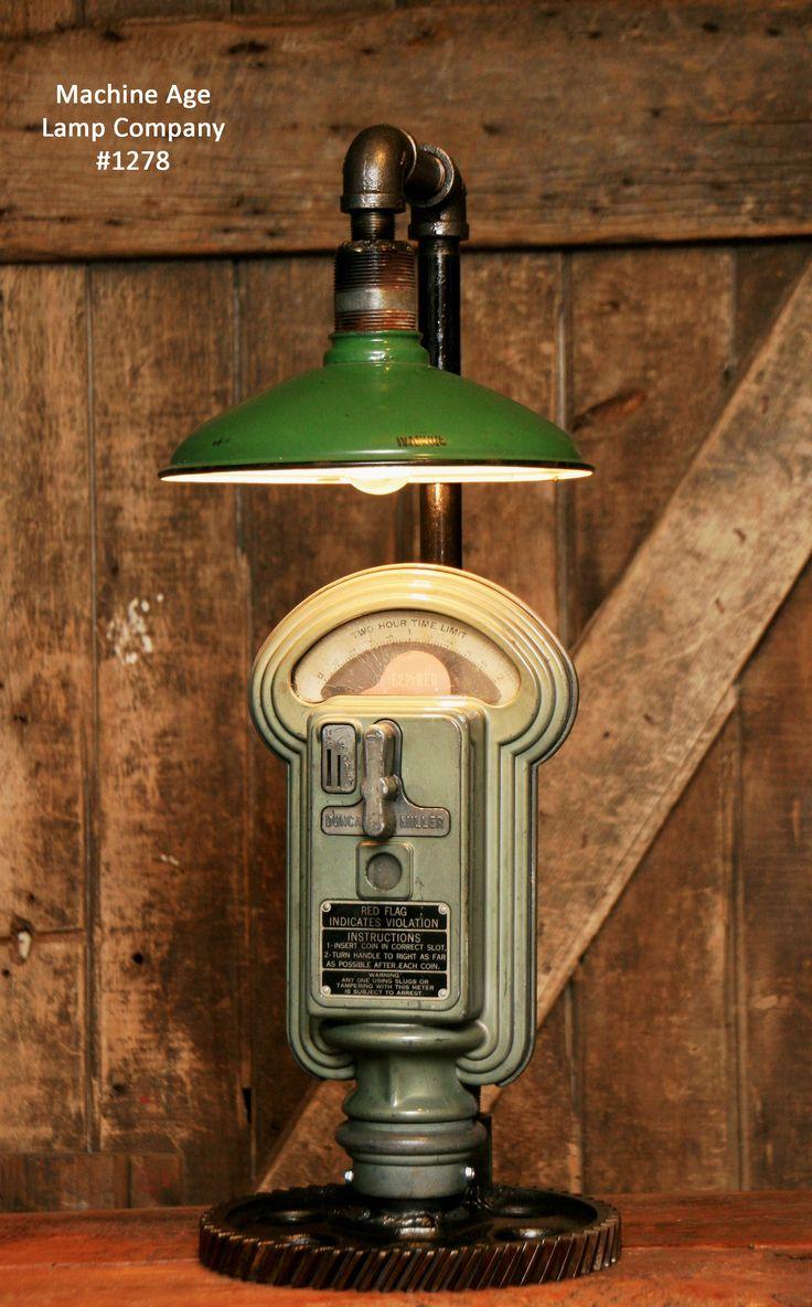 Parking Meter Lamp, Duncan Miller Machine Age Lamp Company, Shawn Carling