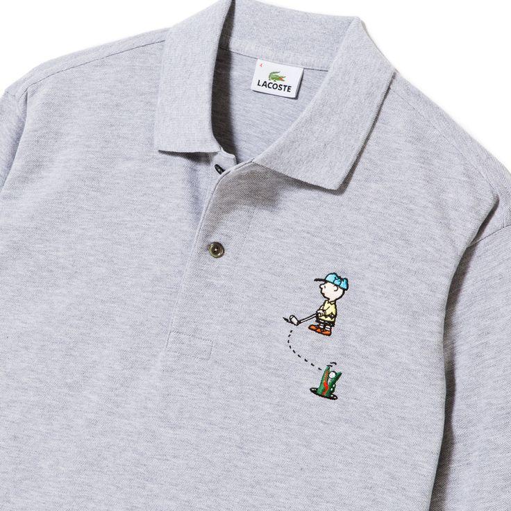 アメリカの漫画家チャールズ・M・シュルツの作品「Peanuts」とのコラボレーションポロシャツです。人気キャラクターの「チャーリー・ブラウン」が胸元刺繍に入っています。<br>※ 日本の e-shop 限定販売の商品でございます。<br><br>Made in Japan