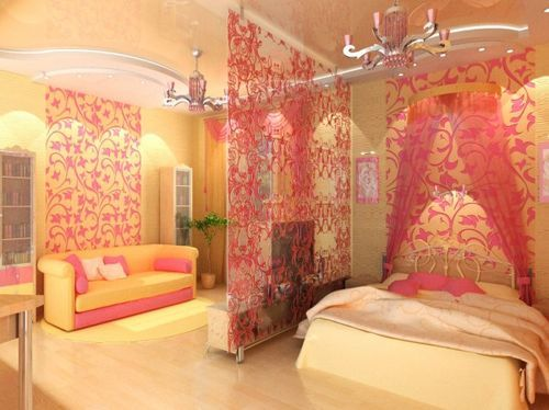 Шторы перегородки для комнат квартиры своими руками: фото