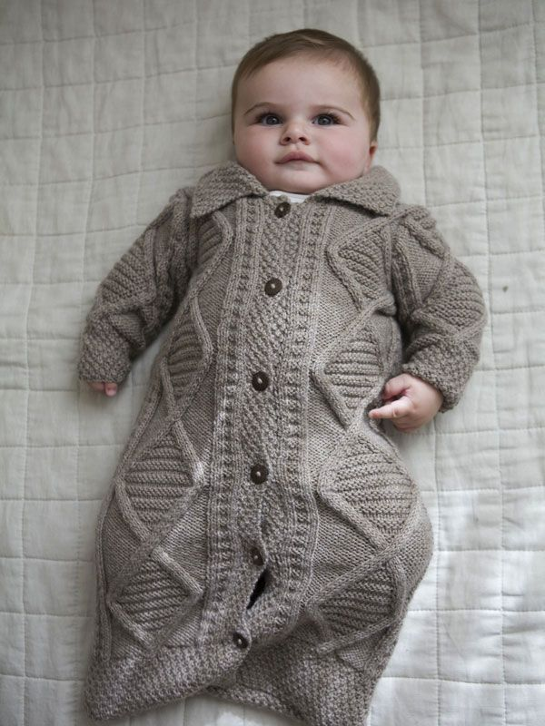 Baby Bunting Knit Pattern