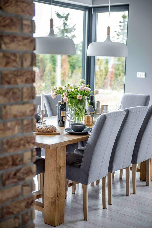 Nordic gray modern home interior design 3