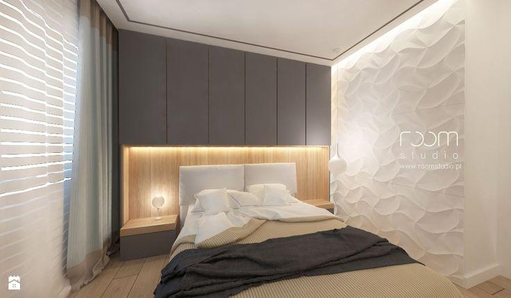 Sypialnia styl Minimalistyczny - zdjęcie od ROOM STUDIO - Sypialnia - Styl Minimalistyczny - ROOM STUDIO