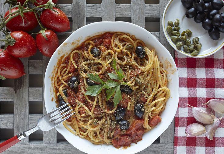 RECEPT: Talianske špagety s paradajkami via @akademiakrasy
