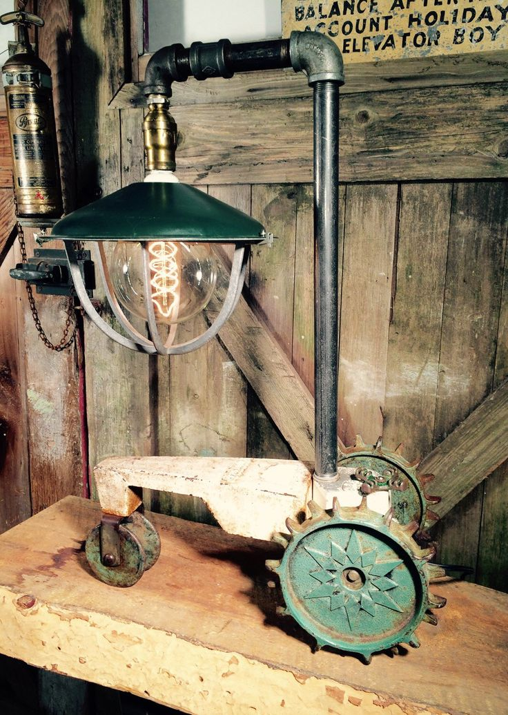 Industrial Light Parts : Best images about steampunk industrial lighting on