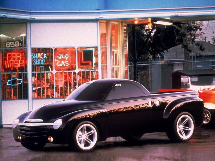 Chevy SSR....greatest ride chevrolet ever had.  i hate to admit it....but i miss it.