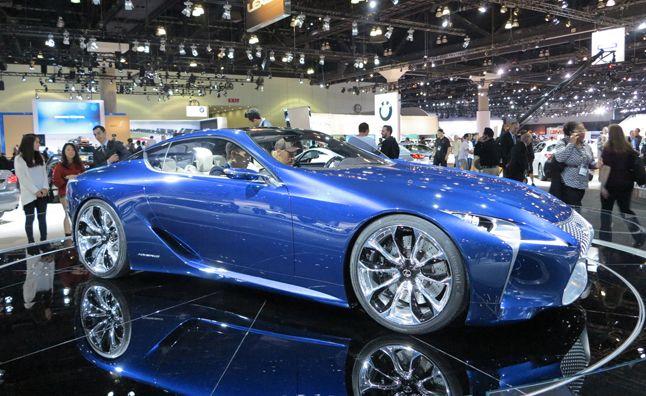Lexus LF-LC Blue Concept Heading to 2013 Chicago Auto Show. For more, click http://www.autoguide.com/auto-news/2013/01/lexus-lf-lc-blue-concept-heading-to-2013-chicago-auto-show.html