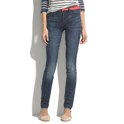 Want some high risers!  Skinny Skinny High Riser Jeans in River Wash@Madewell