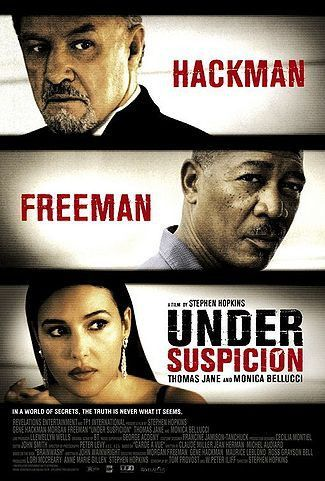 Under Suspicion 2000 Movie Poster 27x40 Used Gene Hackman, Morgan Freeman