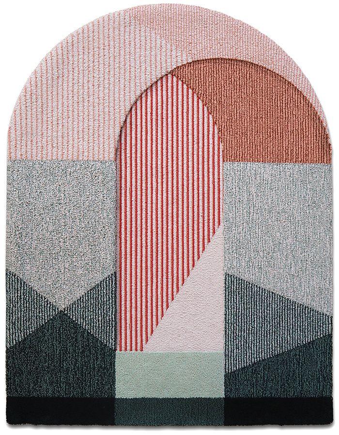 Tapis   Une tapis sottoportico. #tapismoderne #tapisoriginal #designinterieur http://magasinsdeco.fr/