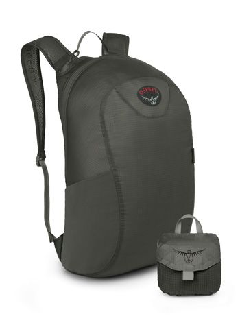 Chillout Travel Centre - Osprey Ultralight Stuff Pack Shadow Grey - NYHET  Ultralett pakkbar sekk  Kun 90 gram