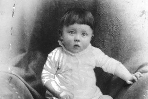 Hitler's Baby Pictures: What made him turn out the way he did? Some say he may have been abused as a child, some say that he learned bad cultural norms shared by many in his country. Then he used these norms to take revenge upon a society that caused him pain when he was a child.