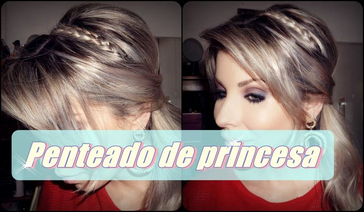 Penteado de princesa, rápido e fácil