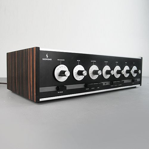 What a beauty! Siemens & Halske Amplifier RV80 Vintage amplifier from the  Klangfilm time -1966