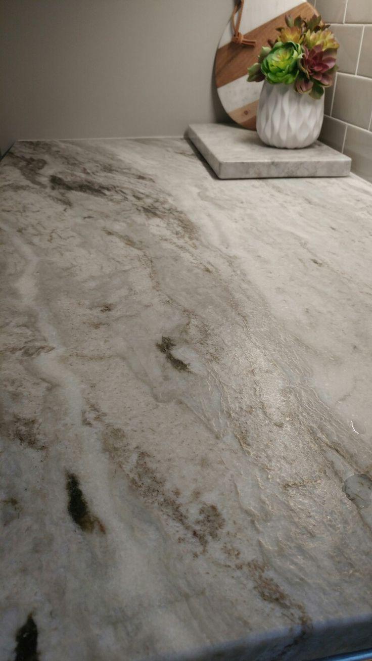 Countertops are fantasy brown granite the backsplash is marble - Leathered Fantasy Brown Granite Countertop Great Texture