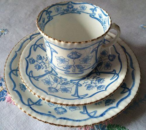 Samuel Radford, Art Nouveau, Tea for One Set