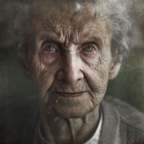 It's amazing how a simple photo portrait can speak for itself, especially when it is the portraits of the elderly. All their life story is written in their wrinkles.