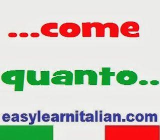 Comparativo di uguaglianza - Italian comparative of equality  http://www.easylearnitalian.com/2013/09/comparativo-di-uguaglianza-italian.html #LearnItalian