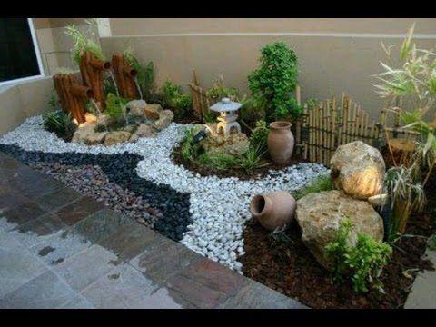 Jardines Decorados Con Piedras Small Garden Design Garden Landscape Design Garden Design