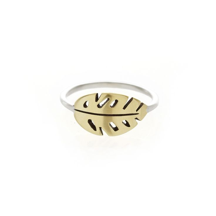 Brass delicious monster ring