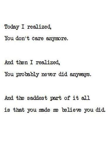 Fool me once shame on you.