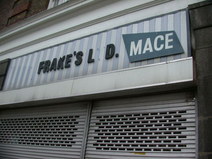 Mace - 'just popping down to the Mace' I'd almost forgotten about this shop.
