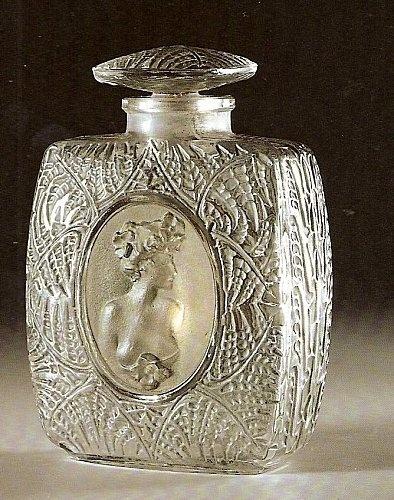 """René Lalique - flacon """"fougères"""" - (1912)"""