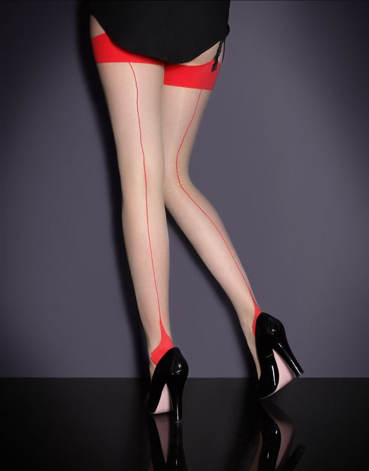Stockings by Agent Provocateur - Seam & Heel Stretch Stockings