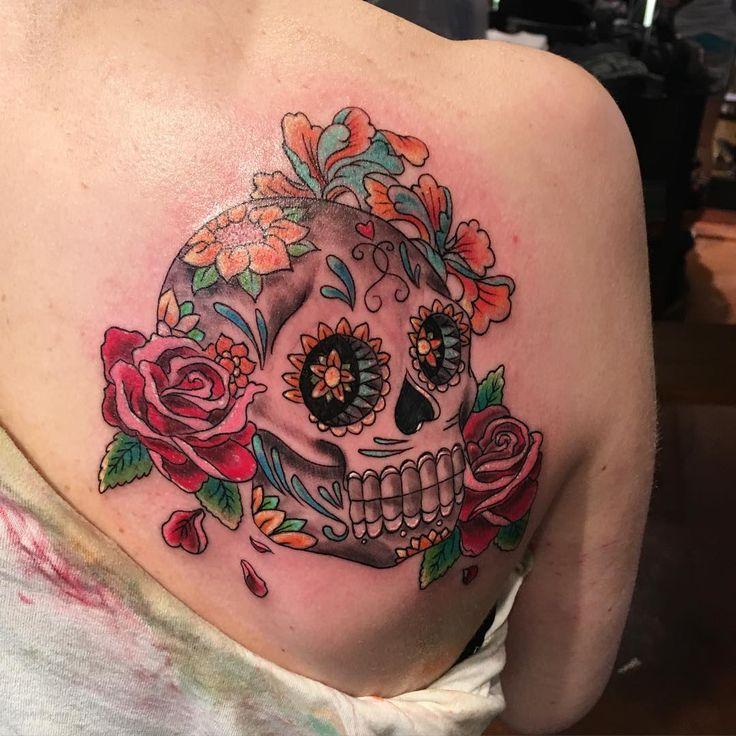Best 20+ Mexican Skull Tattoos Ideas On Pinterest