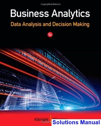 41 best solution manual download images on pinterest business analytics data analysis and decision making 5th edition albright solutions manual test bank fandeluxe Image collections