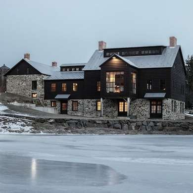 Remodeled Barn and Hayloft converted into beautiful home