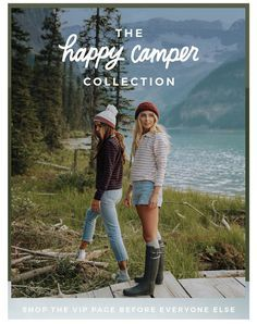 happy campers - super cute outfit ideas from Albion Fit!