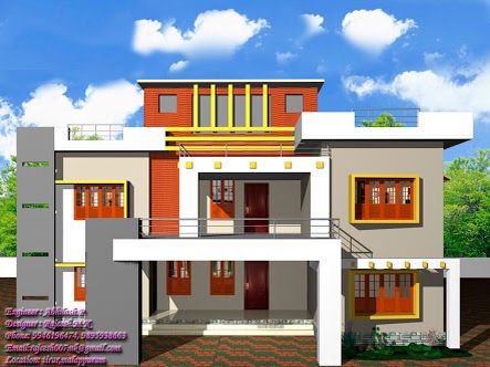 Find This Pin And More On Beautiful Indian Home Designs 13 Awesome Simple Exterior  House
