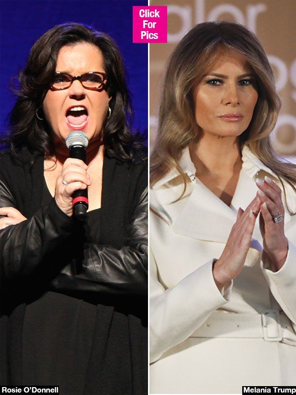 Rosie O'Donnell's Tweet To Melania Trump: 'Divorce Donald' & 'Flee' - Hollywood Life