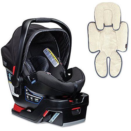 Britax B-Safe 35 Elite Infant Car Seat & Support Pillow, Domino