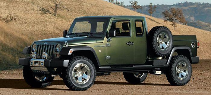 2020 Jeep Truck Wrangler Gladiator Wrangler Pickup Jeep