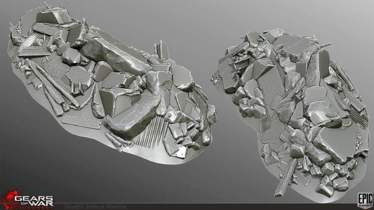 Gears of War:Judgment Art :Josh Marlow's 3d Portfolio