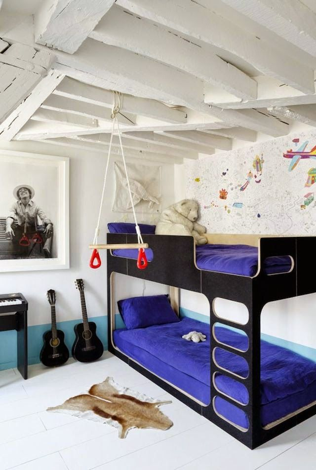 Love the unique bunks 37 best Shared