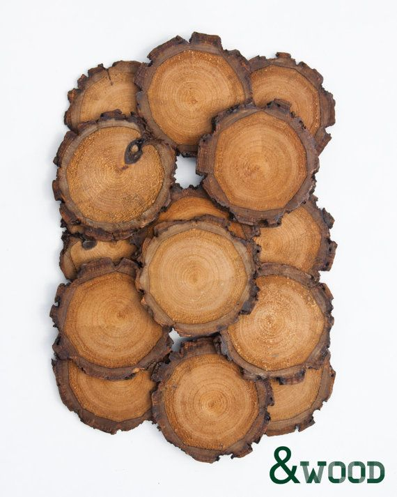 wood coasters - handmade pine $26