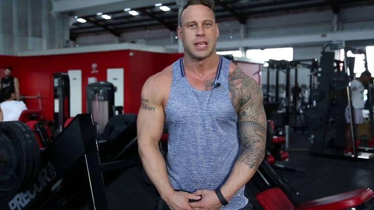 Joe Pitt Hitting Glutes and Hams - World Gym Brisbane